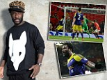 Daddy Cool: Wilfried Bony is making a name for himself in his first season in English football