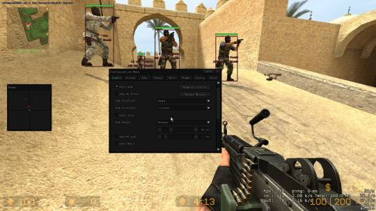 CSS x22 xInstantHook v3.0 — Чит для Counter-Strike Source — x22 для ксс