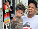 Beyoncé and Jay Z rent out a bird sanctuary to celebrate daughter Blue Ivy's second birthday at jungle-themed bash