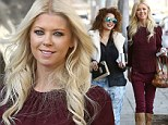 Looking good: Tara Reid looked happy and healthy while out shopping with a friend in West Hollywood on Thursday
