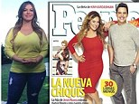 'I had a little chubby girl in my heart': The late Jenni Rivera's daughter Chiquis Rivera puts cruel jibes behind her as she sheds 30lbs in eight weeks