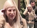 Tori Spelling and Dean McDermott put on a united front as they step out together for first time since he was accused of cheating