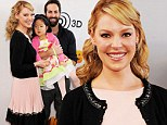 Katherine Heigl makes The Nut Job premiere a family affair with husband Josh Kelley and shy daughter Naleigh