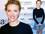 ScarJo at the Superbowl! Chic Scarlett Johansson is unveiled as new 'global ambassador' for SodaStream (and will star in a commercial during the big game)