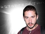 Not going quietly! Shia LaBeouf splashes out $25,000 on another skywriting stunt just hours after announcing plans to retire