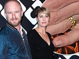 Here comes The Princess Bride! Robin Wright, 47, gets engaged to boyfriend Ben Foster, 33, as she flashes sparkler at fashion bash