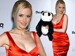 A Panda extravaganza! Holly Madison is a hot red mama as the blonde beauty attends the premiere of new Las Vegas show