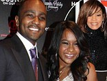 'This is exactly what she wanted' - Bobbi Kristina, 20, says mother Whitney Houston would approve of her marriage to 'brother' husband Nick Gordon