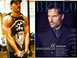 '[Nothing] gives you as much back as you put in than the gym': Joe Manganiello reveals his first love is exercising in Bello