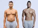 From FLABtastic to six-pack heaven: Olympic gymnast Louis Smith shows off new toned torso in before and after pictures