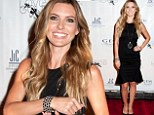 What a charmer! Audrina Patridge sparkles in sexy LBD and crystal costume jewelry to attend the GEM Awards