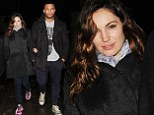 He's her new Twister Mister: Kelly Brook can't get enough of Gladiator lover David 'Tornado' McIntosh