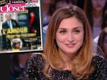 In the photographs, printed in today's edition of French Closer magazine, the 59-year-old is allegedly seen sneaking into the Paris home of Julie Gayet, 41