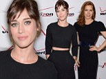 Black magic! Lizzy Caplan and Amy Adams use the powers of a perfect LBD to the masters of sexy at the AFI Awards Luncheon