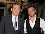 Laughable: Duncan James has dismissed claims of a gay fling with band-mate Lee Ryan
