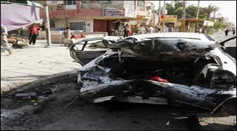 2 car bombings kill 13 civilians in Iraq