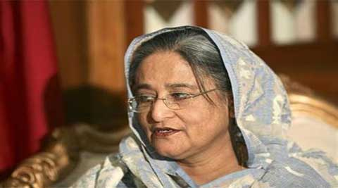 Sheikh Hasina sworn in as Bangladesh PM after violent elections