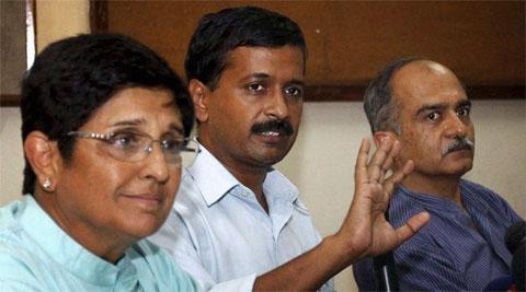 Secretariats are not run from rooftops, Bedi tells Kejriwal