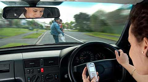 Drivers 'distracted' 10 per cent of the time behind the wheel