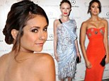 Heavenly Creatures: Nina Dobrev is a vision in red while Kate Bosworth misses the mark in underwater-inspired frock at The Art Of Elysium's Heaven Gala