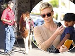 Not (mini) horsing around! Charlize Theron throws a birthday bash for her adorable son Jackson (complete with farm animals)