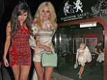 What would Mama say? Pixie Lott looks bleary-eyed in silky florals as she celebrates 23rd birthday with 4am stripclub visit