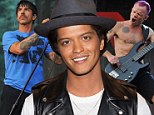Get your game face on, guys! Alt rockers Red Hot Chili Peppers join Bruno Mars for Super Bowl Halftime Show