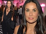 Demi Moore dazzles in a plunging jumpsuit as she steps out for first time following Mexican getaway with latest toyboy