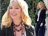 She looks breathless in that necklace! Katherine Heigl's new haircut and creative accessories give her a fresh new look