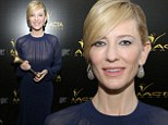 'I'm Australian; all I had to do was show up': Cate Blanchett humbly accepts her Best International Lead Actress AACTA Award