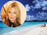 Friends in high places! Richard Branson gifts Kate Moss a week on his Caribbean island for her 40th birthday party