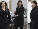 She admitted she had managed to ease the stress of the excruciating high profile trial of her former assistants by 'eating lots of chocolate'