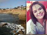 Anna Bachman, 25, from Chicago, fell from the beauty spot at the Sunset Cliffs in San Diego, California. The woman fell 40-50ft down the rock face around 5pm while posing for a picture with her sister.