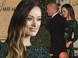 Pregnant Olivia Wilde finds the energy to hit Golden Globes after party at the Sunset Tower as she reveals her due date
