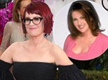 Is that you, Karen? Will & Grace star Megan Mullally is unrecognisable at the Golden Globes with a blunt, red bob and thick-rimmed glasses