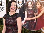 Flipping the bird: Feisty actress Elisabeth Moss swears at live-streaming camera on Golden Globe Awards red carpet