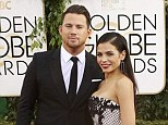 Not an easy task! Jenna Dewan-Tatum upstaged her dapper husband Channing at the Golden Globe Awards in Los Angeles on Sunday night