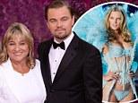 Leonardo DiCaprio leaves Victoria's Secret model girlfriend at home as he takes mother Irmelin to Golden Globe Awards