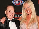 The odd couple that worked: Brynne and Geoffrey were married for four years before ending their union