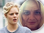 That's more like it! Samara Weaving, 21, looks fresh and youthful makeup free after using ageing application on her smart phone and posting wrinkly snap online