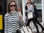 Pippa Middleton with her ?795 Aspinal bag - the Marylebone tote