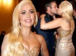 Actor Taylor Kinney and singer Lady Gaga attend NBC Universal's Golden Globes Post-Party Sponsored by Fiat and Hilton held at the Beverly Hilton Hotel