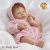 Linda Webb Hailey 100% Silicone Limbed Doll - Collectibles Today Exclusive - Exclusive Linda Webb Lifelike Baby Doll, a Market First Silicone Baby Doll Realistic in Every Detail! Helps Newborns in Need!