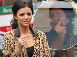 Lucy Mecklenburgh emerges from salon looking preened in leopard print coat and over-the-knee boots ahead of photoshoot