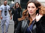 Kelly Brook and David McIntosh head out for a stroll