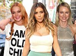 And the nominees are¿ Kim Kardashian, Lindsay Lohan and Naomi Watts all make it on to this year's Razzies list