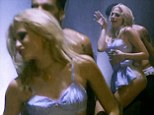 Pixie Lott grinds on a hot guy in skimpy bra and micro-mini for new music video