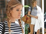 Getting in touch with her inner child! Doutzen Kroes ditches typical Victoria Secret model big hair for cute braids
