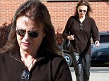Jacqueline Bisset steps out for the first time since THAT rambling Golden Globes speech as she runs errands in Beverly Hills