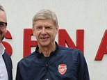 No news: Arsenal boss Arsene Wenger says the club are not close to any transfers as the club announced a deal with Huawei as the Official Smartphone Partner
